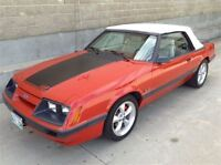 1986 Ford Mustang GT Convertible 5.0 Ltr