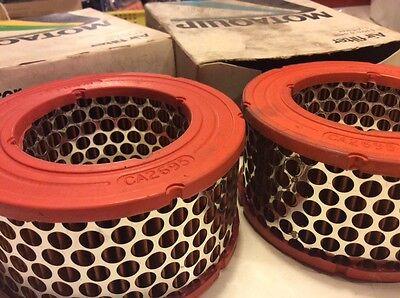 Citroen 2cv6 air filters Pair classic car!Motaquip VFA 131 dyane 4,6 luxeConfort