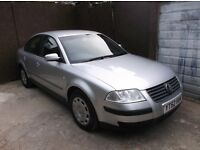 VOLKSWAGEN PASSAT 1.9 TDI PD S MK5 FACELIFT 2002 (52 ) 4DR SALOON REMOTE CENTRAL LOCKING AC CD