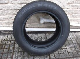 Aurora Radial K407 195 /60R15 88V Fitted but never used as New