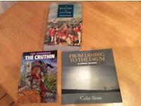 Three Northern Ireland books. Used.