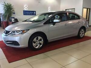 2015 Honda Civic Sedan LX GR.ELELCT+A/C+CAM