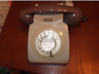 vintage retro bt telephone