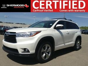 2014 Toyota Highlander Limited AWD | REMOTE START | PANORAMIC |