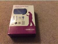 Gameware deluxe starter pack for Nintendo 3DS XL - blue - Brand new