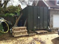 20 feet 20' shipping storage container 8' 8ft site tool store
