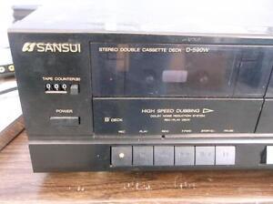 Double Cassette Deck Player Sarnia Sarnia Area image 2