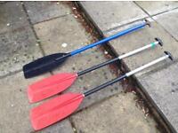 Canoe paddles- medium/small