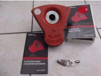 al-ko wheel lock good condition