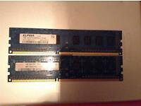 2gb (1gbx2) RAM kit CHEAP DDR3 MEMORY