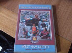 West Ham United Season Review 2003-04