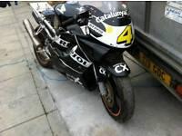 Cbr 600 race track bike