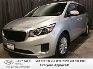 2016 Kia Sedona LX W/ REAR VIEW CAMERA, 8 PASSENGER!