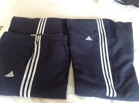 3 X pairs ladies adidas pants