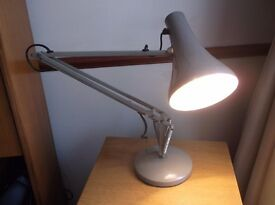 MID CENTURY INDUSTRIAL STYLE HERBERT TERRY ANGLE POISE LAMP DRAUGHTSMEN PROP INTERIOR DESIGN BUFF