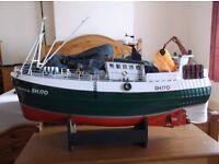 R.C. Fishing Boat.