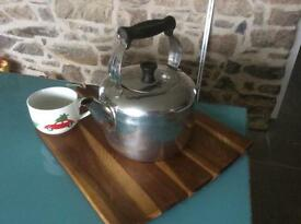 Big stove kettle suitable for AGA cooker or Range