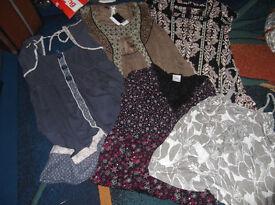 bundle of clothes.
