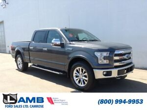 2015 Ford F-150 Lariat 4x4 with BLIS, Navigation and Twin Panel