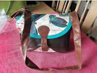 Disater design handbag New with Tags Vintage Roses or Vintage Butterflies