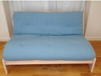 Futon Company Double Birch Sofa Bed - has been stored since new - RRP £649