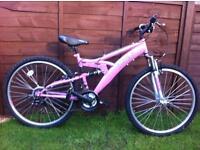 Girls / ladies trax bike