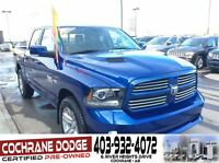 2014 Ram 1500 Sport Crew - FULLY LOADED W/ONLY 10, 000KMS!