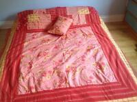 Housse de couette à vendre lit Queen