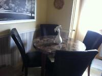 Dining table and chairs and sets