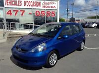 2007 Honda Fit DX texto 514-794-3304