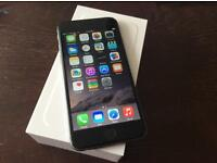 APPLE iPhone 6 64 GB unlocked space grey with box £360 Ono nearest offer gets it