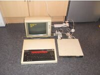 BBC B COMPUTER WITH MONITOR & DISK DRIVE
