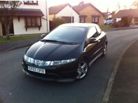 HONDA CIVIC TYPE-S i-VTEC - ONLY 2 FORMER KEEPERS - 2x KEYS - FREE DELIVERY - P/X WELCOME