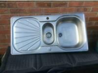 Franke brushed steel sink