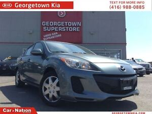 2013 Mazda MAZDA3 GX LOADED POWER GROUP TIRES LIKE NEW