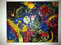 big peace painting    please contact me with an offer