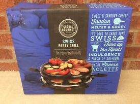 Swiss party grill * NEW *
