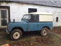 Land Rover Series 3 SWB - Project vehicle