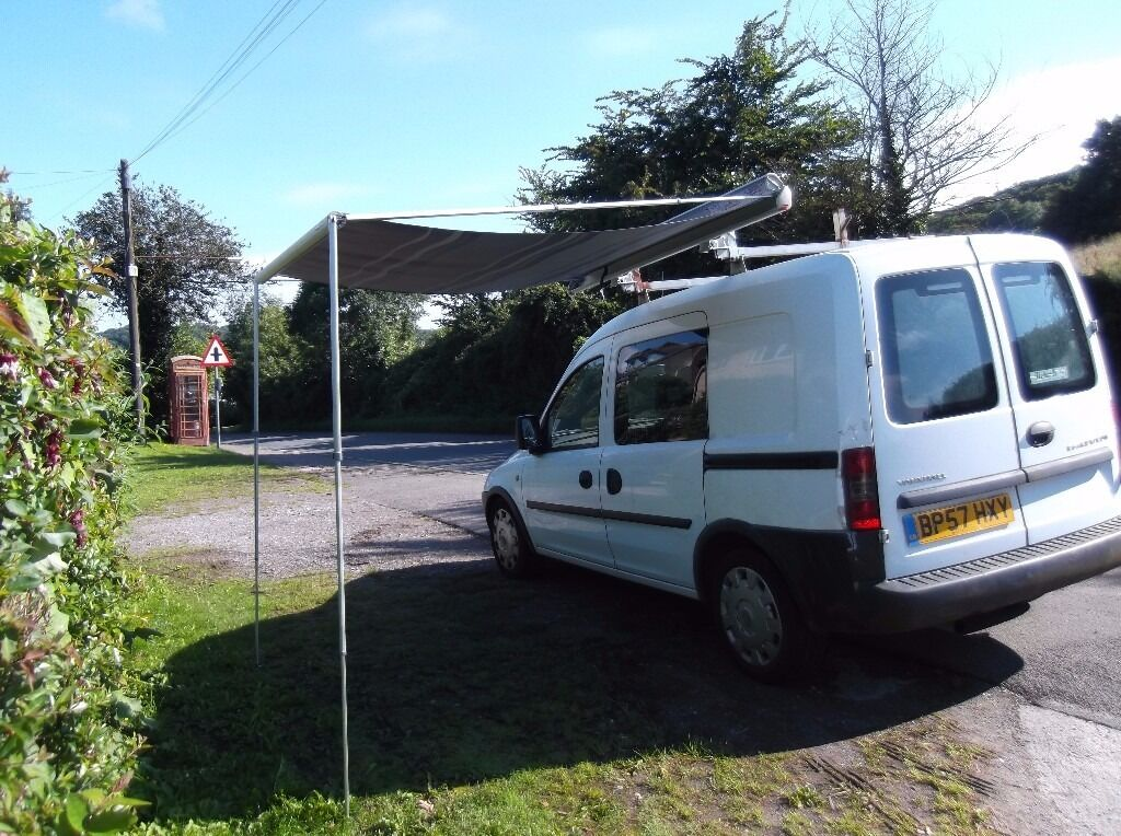 FIAMMA F35 PRO180 AWNING FOR SMALL VAN EG VAUXHALL COMBO