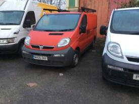 Vauxhall vivaro 19 diesel mot ready to go