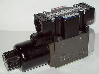 D03 4 Way 42 Hydraulic Solenoid Valve Iw Vickers Dg4v-3-0b-wl-h 24 Vdc