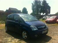 2007 VAUXHALL MERIVA 1.6 PETROL , , 1 YEAR MOT , , GOOD RUNNER , , CHEAP CAR