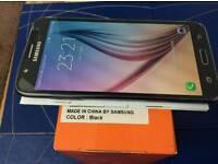 Samsung j7 - Unlocked - Dual sim - 16gb - black - 2015 model - Boxed .