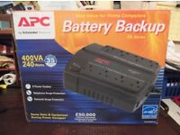APC400 Battery Backup-UPS (400 VA) BRAND NEW