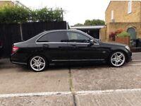 MERCEDES C250 CDI Sport AMG EXCELLENT CONDITION Not C220 BMW 320D 330D Audi A4