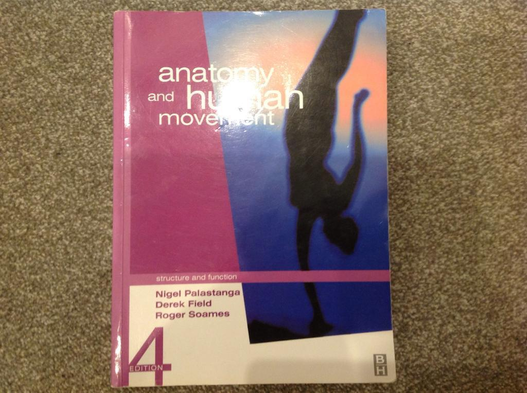 Anatomy And Human Movement 4th Ed Palastanga Et Al 2002 In