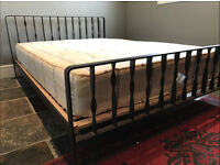 Habitat Cast Iron EU Double Bed Frame - with or without Matress