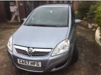 Vauxhall Zafira 1.8 i 16v Life Easytronic 5dr£3,495 p/x welcome FREE WARRANTY. NEW MOT