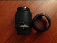 Nikkor 55 - 200mm lens