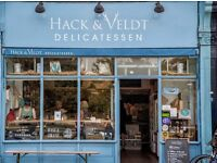 2 Vacancies: Daytime Barista/Deli Asst & Evening Bar staff required - Part/Full time - Chiswick